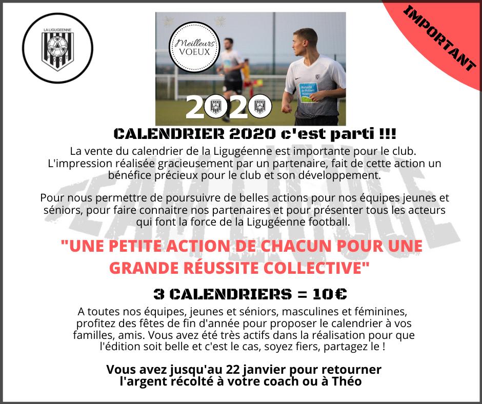 Calendrier 2020 - FB-1